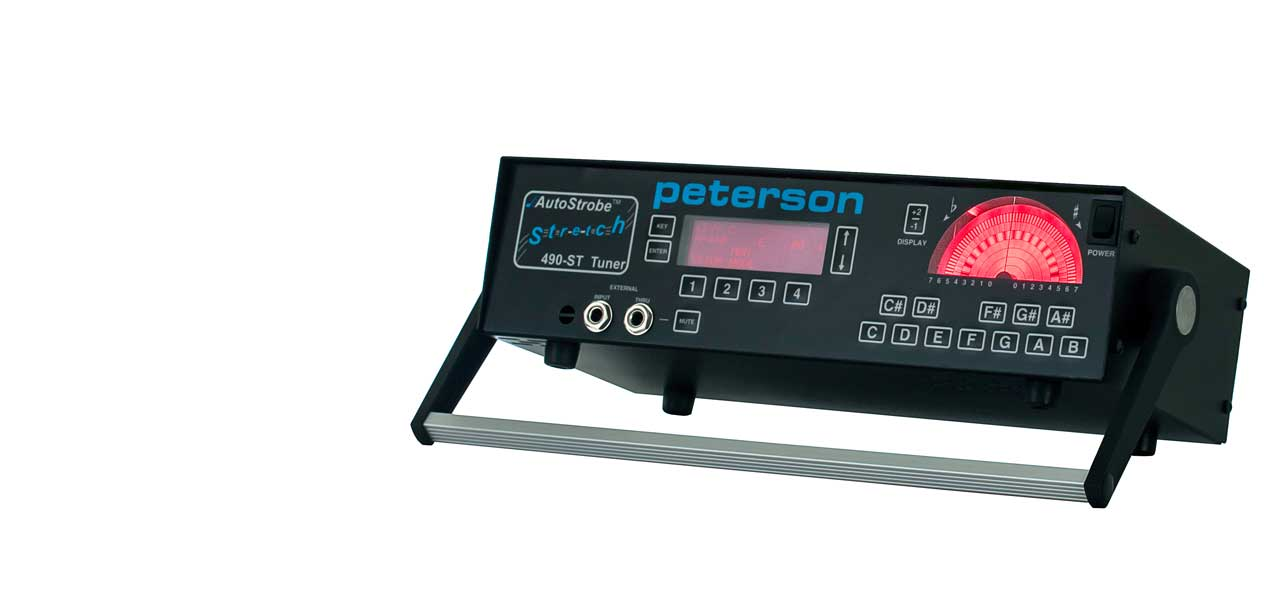 AutoStrobe 490-ST Mechanical strobe tuner with stretch tuning | Peterson Strobe Tuners