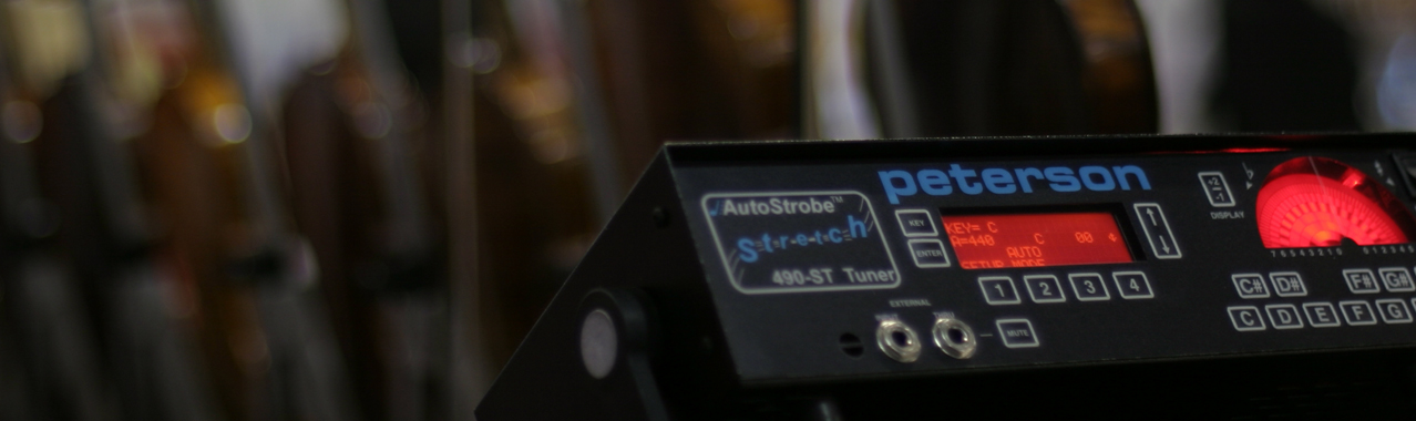 UNMATCHED ACCURACY | Peterson Strobe Tuners