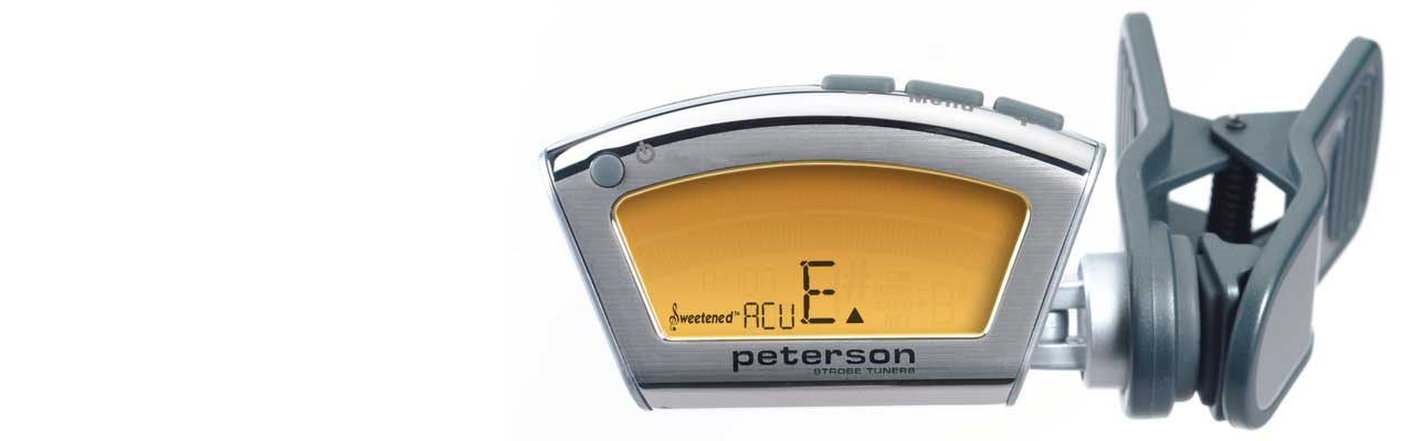 PROVEN TUNING TECHNOLOGY | Peterson Strobe Tuners