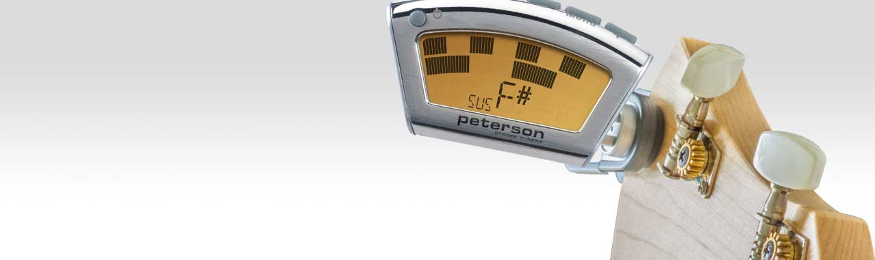 INNOVATIVE SUSTAIN MODE | Peterson Strobe Tuners
