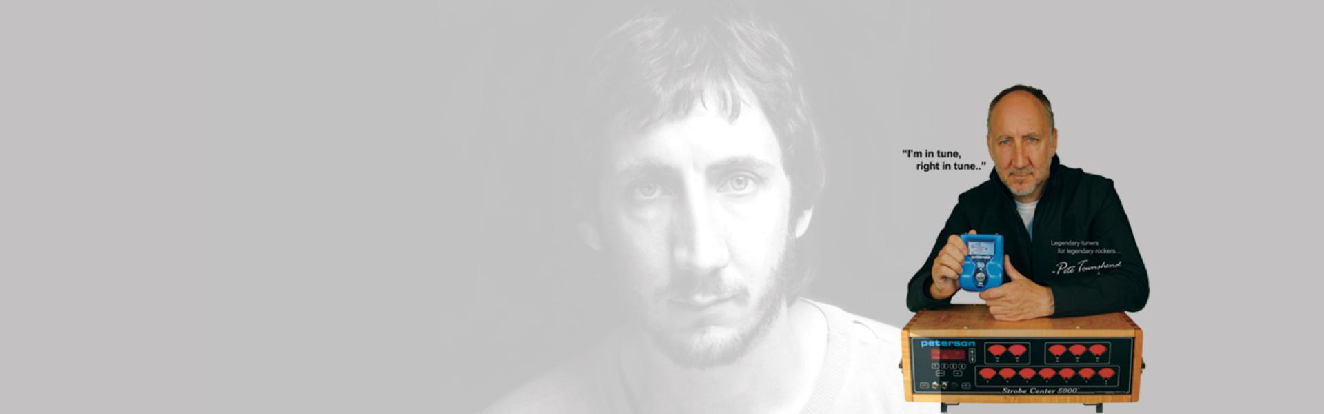 Pete Townshend | Rock | Peterson Strobe Tuners
