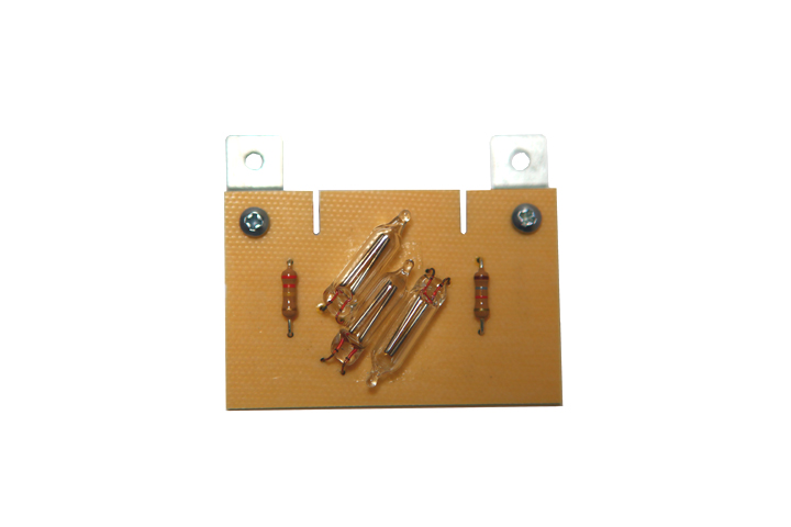 Replacement neon lamp board module for models 400, 420, 500, 520, 700. | Peterson Strobe Tuners