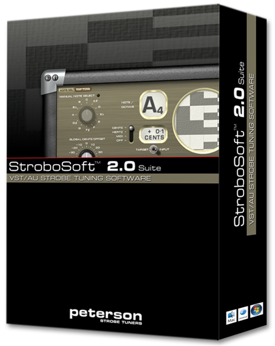 Prefer a Boxed Version? This product is eligible for free lifetime upgrades. | Peterson Strobe Tuners
