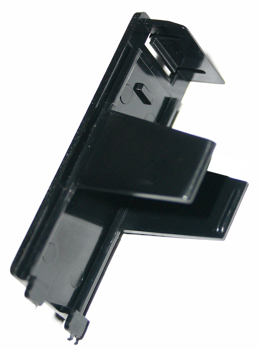Replacement battery door cover for the StroboStomp™ Virtual Strobe™ pedal tuner. | Peterson Strobe Tuners