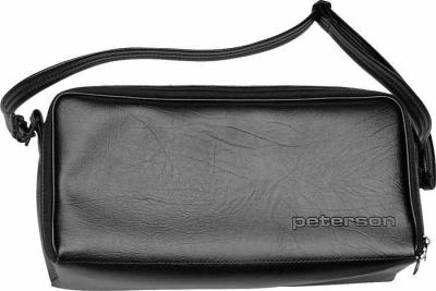 Soft but durable, with double zippered flap top, space for additional accessories, and an adjustable/removable shoulder strap. | Peterson Strobe Tuners