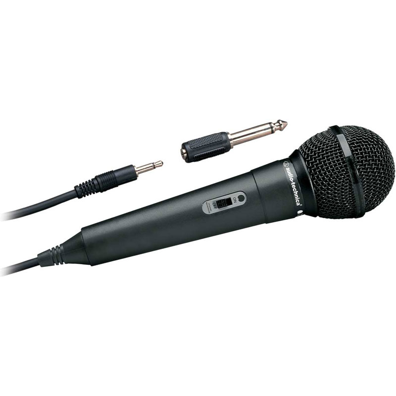 Unidirectional Dynamic Handheld Microphone - for better isolation and pickup of acoustic sources (for all Virtual and AutoStrobe™ tuner models). | Peterson Strobe Tuners