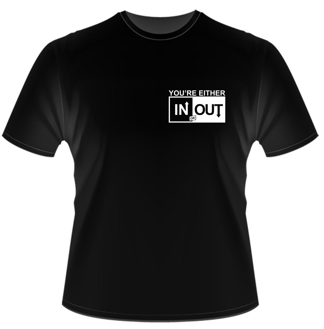 Peterson Tuners In Out Logo Tee